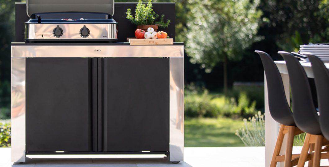 Module cuisine extérieur plancha gaz Enosign