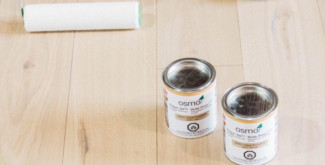 Huile naturelle OSMO pour entretien bois