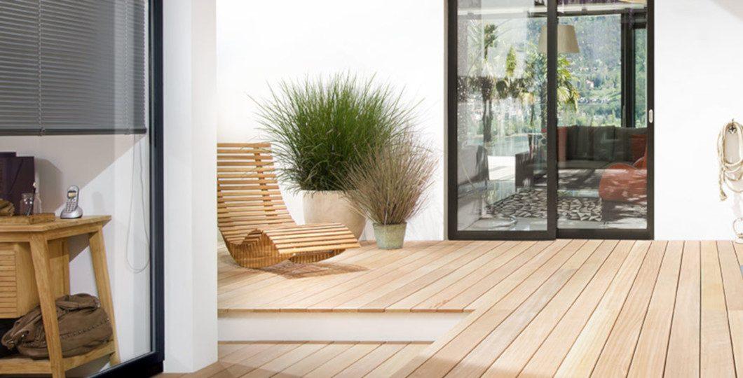 Finition naturelle OSMO spécial terrasse bois