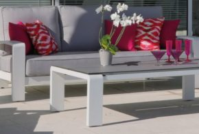 Ensemble détente Cordouan (canapé + fauteuils + table basse) - Océo