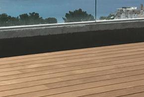 Terrasse en kebony