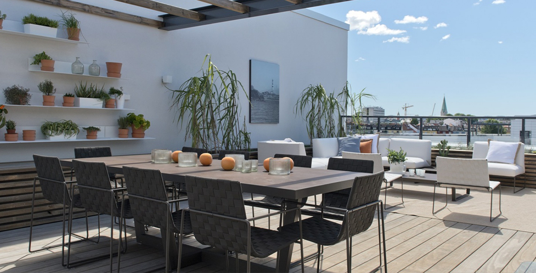 Terrasse en bois Kebony Clear Radiata